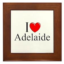 """""""I Love Adelaide"""" Framed Tile"""