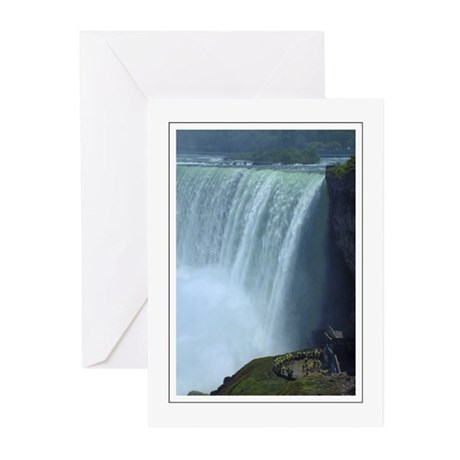 Horseshoe Falls Portrait Greeting Cards (Pk of 10)