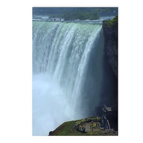 Horseshoe Falls Portrait Postcards (Package of 8)
