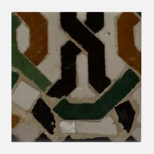 Funny Spain alhambra Tile Coaster