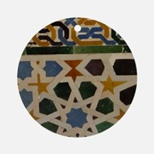Cute Spain alhambra Round Ornament