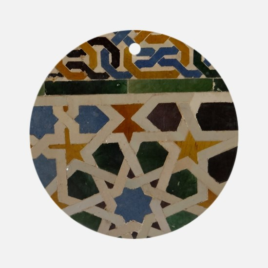 Cute Alhambra Round Ornament