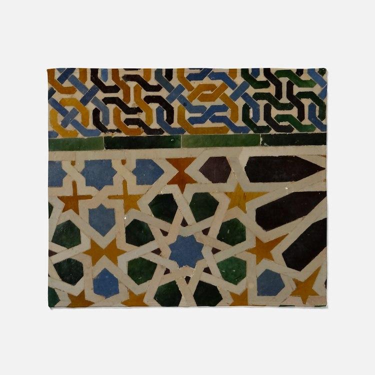 Cute Alhambra Throw Blanket