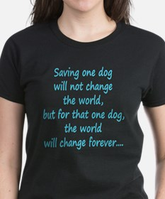 Save dog aqua T-Shirt