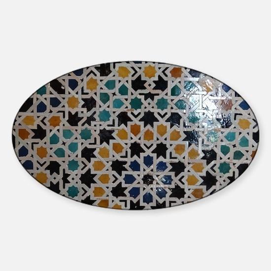 Unique Alhambra Sticker (Oval)