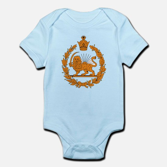Persia Coat of Arms Infant Creeper