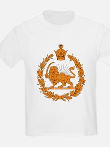 Persia Coat of Arms Kids T-Shirt