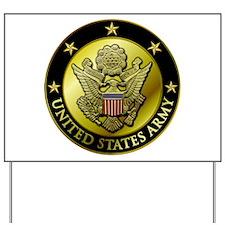 Army Black Logo Yard Sign