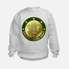 Army Green Logo Sweatshirt