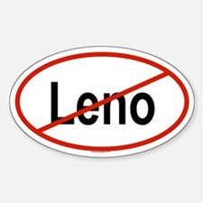 LENO Oval Decal
