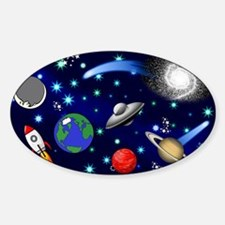 Kids Galaxy Universe Illustrations Decal