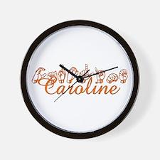 Caroline Wall Clock
