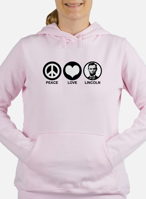 Peace Love Lincoln Sweatshirt