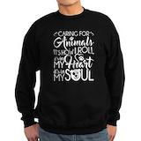 Animal rescue Crewneck Sweatshirts