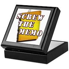 Screw the Memo... Keepsake Box