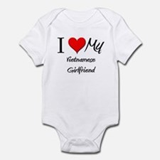 I Love My Vietnamese Girlfriend Infant Bodysuit