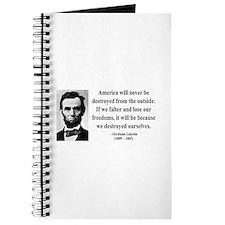Abraham Lincoln 2 Journal