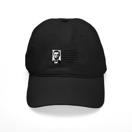 Abraham Lincoln 2 Black Cap