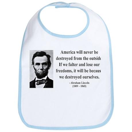 Abraham Lincoln 2 Bib