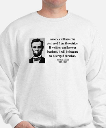 Abraham Lincoln 2 Sweater