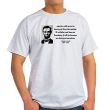 Abraham Lincoln 2 T-Shirt