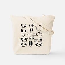 Animal Tracks Collection 2 Tote Bag