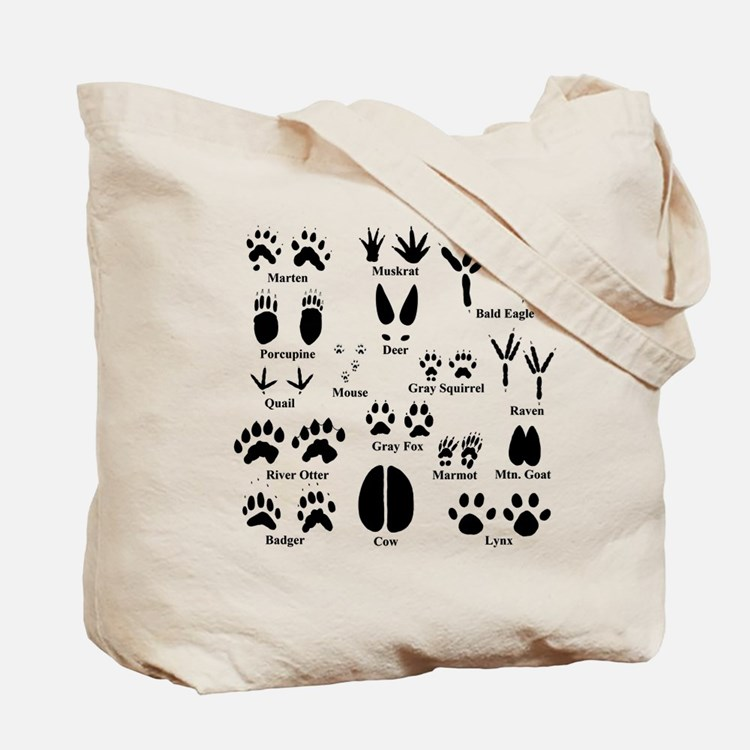 Animal Tracks Collection 2 Tote Bag