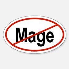MAGE Oval Decal