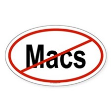 MACS Oval Decal