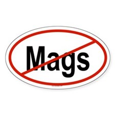 MAGS Oval Decal