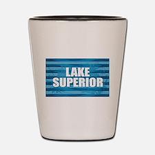 Lake Superior Shot Glass