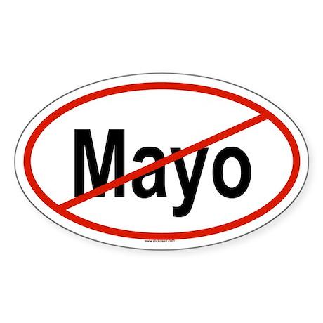 MAYO Oval Sticker