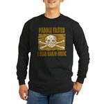 Paddle Faster 5 Long Sleeve Dark T-Shirt