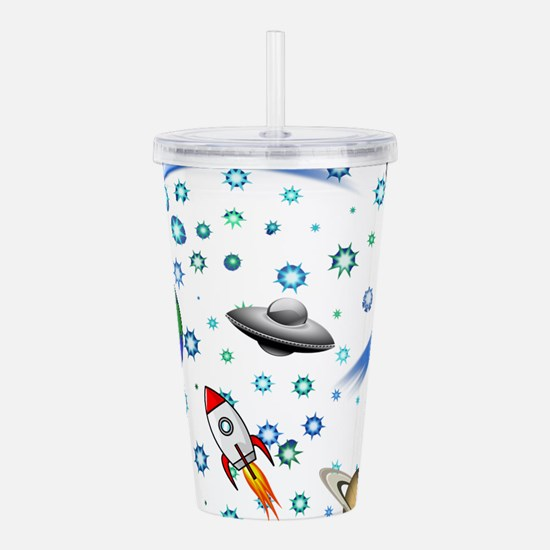 Kids Galaxy Universe I Acrylic Double-wall Tumbler