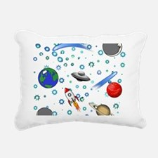 Kids Galaxy Universe Ill Rectangular Canvas Pillow