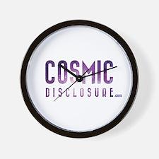 CosmicDisclosure.com Wall Clock