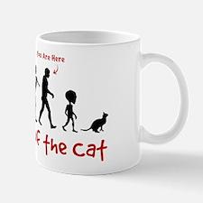 Evolution of the CAT - Coffee Mug