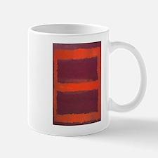 ROTHKO ORANGE MAROON 22 Mugs