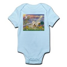 Cloud Angel & Wheaten Infant Creeper