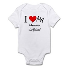 I Love My Ukrainian Girlfriend Infant Bodysuit