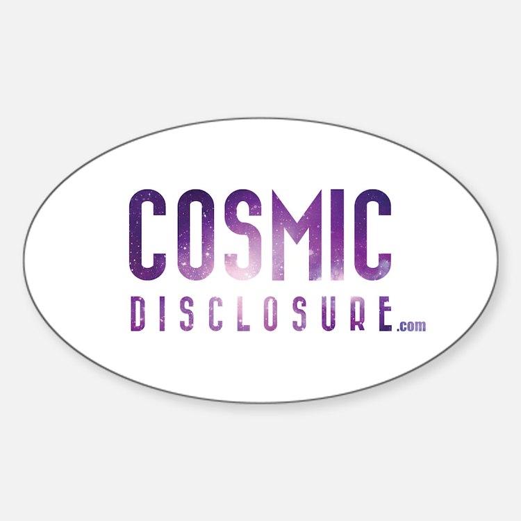 CosmicDisclosure.com Decal