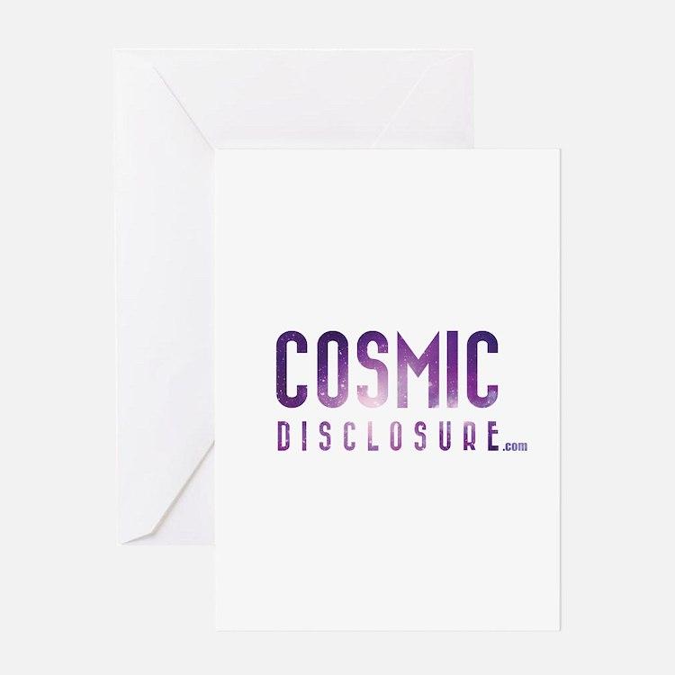 CosmicDisclosure.com Greeting Cards