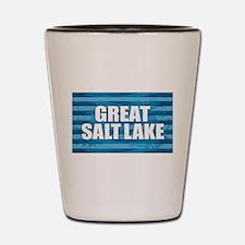 Great Salt Lake Shot Glass
