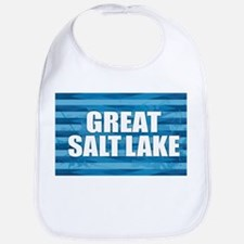 Great Salt Lake Baby Bib
