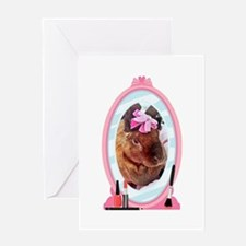 Velveteen Rabbit Looks in a Mirror Greeting Cards