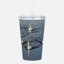 Here They Come... Acrylic Double-wall Tumbler