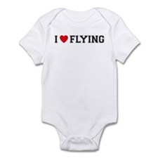 I Love Flying Infant Bodysuit