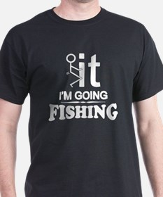 Unique Addicted to fishing T-Shirt