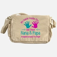 Funny Nana and papa Messenger Bag