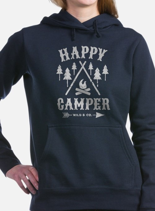 Happy Camper T Shirt Sweatshirt